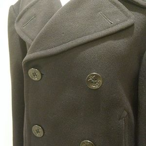 434b6b618ae Dale Fashions Jackets   Coats - Kersey wool Navy pea coat